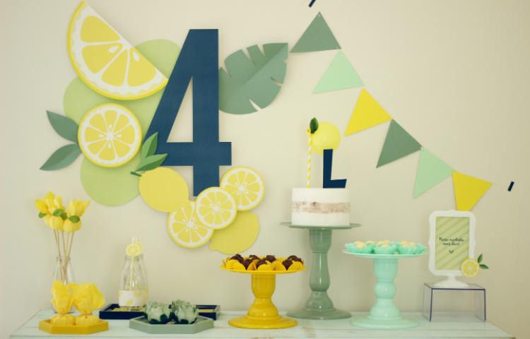 Festa Limão Para Menino - Agatha Moraes